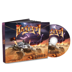 "MAJESTY ""Rebels"" Digipack"
